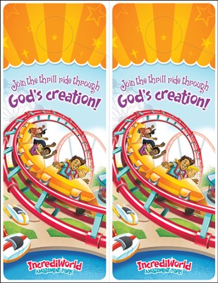 IncrediWorld Amazement Park VBS Doorhangers (Pack of 20)  -