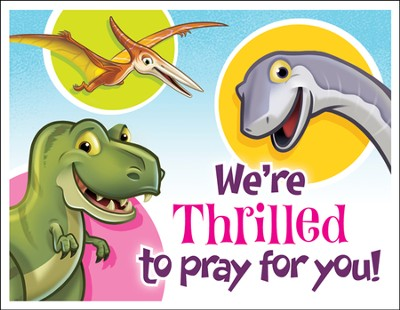 IncrediWorld Amazement Park Praying for You Postcards (Pack of 40)  -