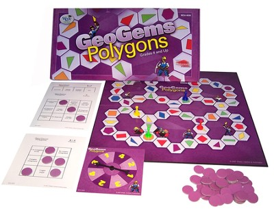 GeoGems Polygons Game   -