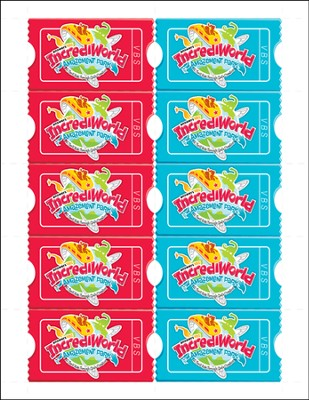 IncrediWorld Amazement Park VBS Promotional Cards (Pack of 100)  -