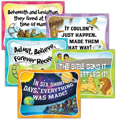 IncrediWorld Amazement Park VBS Daily Overview Posters (Set of 5)  -