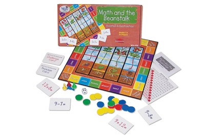 Math and The Beanstalk Game    -