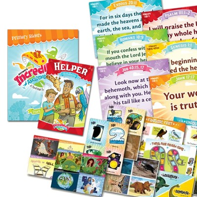 IncrediWorld Amazement Park VBS Primary Teacher Resource Pack (NKJV Version)  -