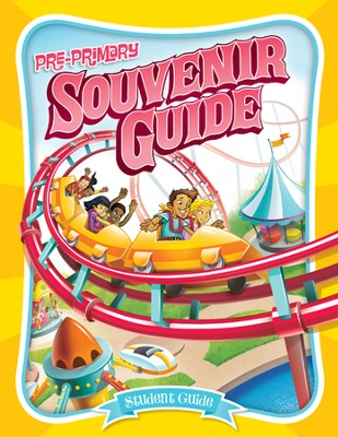 IncrediWorld Amazement Park VBS Pre-Primary Student Guides (KJV Version; Ages 4-6; Pack of 10)  -