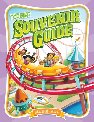IncrediWorld Amazement Park VBS Toddler Student Guides (KJV Version; Ages 2-4; Pack of 10)  -