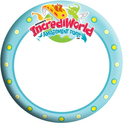 IncrediWorld Amazement Park VBS Name Buttons (Pack of 10)  -