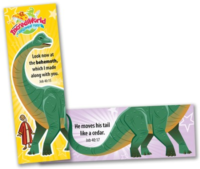 IncrediWorld Amazement Park VBS Behemoth Bookmarks  (KJV Version; Pack of 10)  -