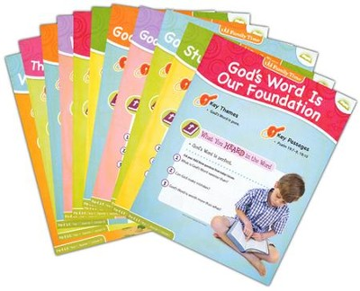 Answers Bible Curriculum Year 1 Quarter 1 Pre-K & K Extra Take Home Sheets (1 Student)  -