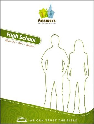 Answers Bible Curriculum Year 1 Quarter 1 High School Teacher Kit                       -