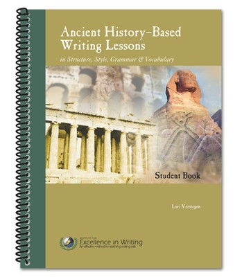 Ancient History-Based Writing Lessons, Third Edition, Student Book  -