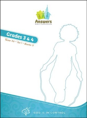 Answers Bible Curriculum: God Is in Control Grades 3&4 Teacher's Kit Year 1 Quarter 4  -