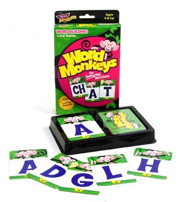Word Monkeys: The Swinging Word Game   -