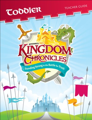 Kingdom Chronicles Toddler Teacher Guide (ages 2-4)(1 Teacher Guide CD-ROM)  -