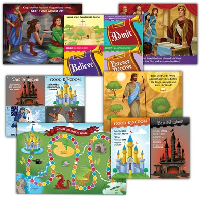 Primary Teaching Posters, pack of 8   -