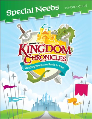 Kingdom Chronicles Special Needs Teaching Suppliment (includes 1 CD-ROM)  -