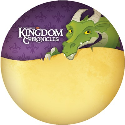 Kingdom Chronicles Name Button (pack of 10)  -