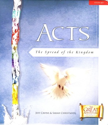 Adventure In Acts Study Set with Binder   -     By: Jeff Cavins, Sarah Christmyer