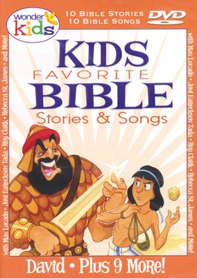 Kids Favorite Bible Stories & Songs: David   -     By: Wonder Kids