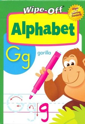 Alphabet Wipe-Off Activity Cards   -
