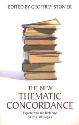 The New Thematic Concordance   -     By: Geoffrey Stonier