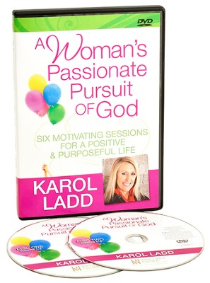 A Woman's Passionate Pursuit of God DVD Set   -     By: Karol Ladd