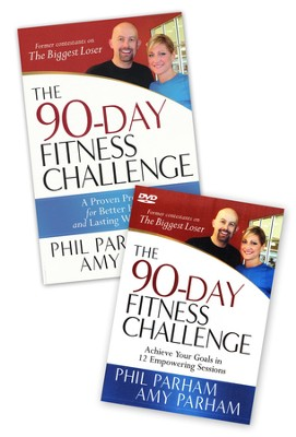 90-Day Fitness Challenge, Book & DVD   -     By: Phil Parham, Amy Parham