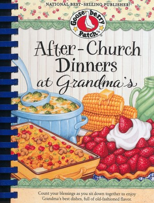 After-Church Dinners at Grandma's--Cookbook   -
