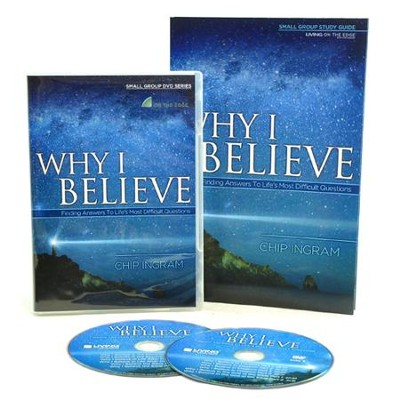 Why I Believe, DVD and Study Guide   -     By: Chip Ingram