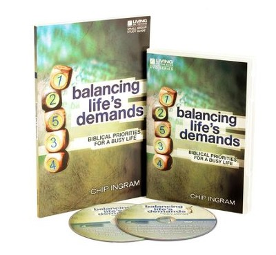 Balancing Life's Demands Personal Study Kit (1 DVD Set & 1 Study Guide)  -     By: Chip Ingram