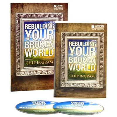 Rebuilding Your Broken World Personal Study Kit (1 DVD Set & 1 Study Guide)  -     By: Chip Ingram