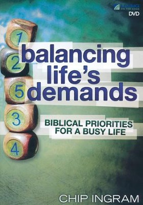 Balancing Life's Demands DVD Set   -     By: Chip Ingram