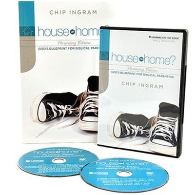 House or Home - Parenting Group Starter Kit (1 DVD Set & 5 Study Guides)  -     By: Chip Ingram