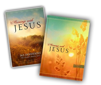 Mornings with Jesus: 365 Devotions to Start Your Day--Devotional and Journal  -
