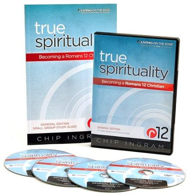 True Spirituality - General Edition Personal Study Kit (1 DVD Set & 1 Study Guide)  -     By: Chip Ingram