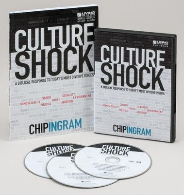 Culture Shock Personal Study Kit (1 DVD Set & 1 Study Guide)   -     By: Chip Ingram