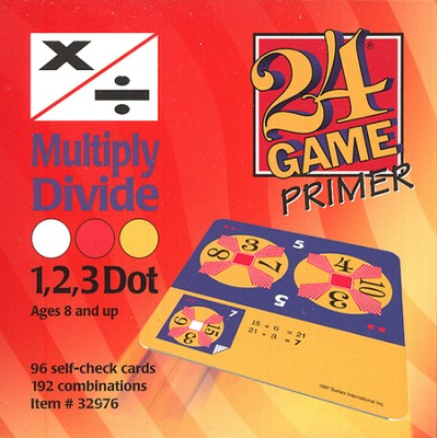 24 Game: Multiply & Divide (96 Cards)  -