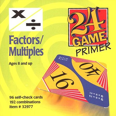 24 Game: Factors & Multiples  -