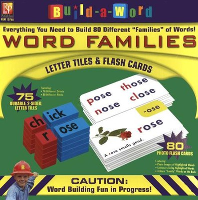 Build-a-Word Word Families Kit   -