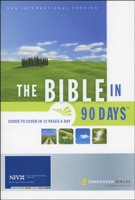 The Bible in 90 Days NIV - Slightly Imperfect   -