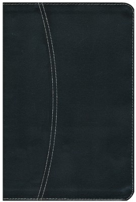 NIV Life Application Study Bible--European bonded leather, black/black 1984  -