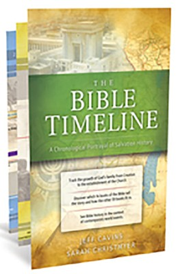Great Adventure Bible Timeline Chart   -     By: Jeff Cavins