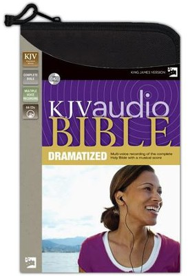 Zondervan King James Audio Bible on CD Dramatized  -