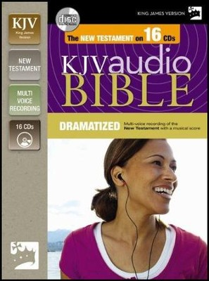 KJV New Testament Dramatized Unabridged CD  -
