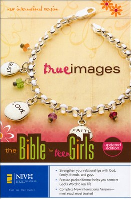 NIV True Images: The Bible for Teen Girls, updated edition, hardcover 1984  -