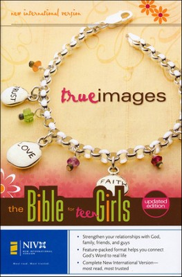 NIV True Images: The Bible for Teen Girls, Case of 12   -