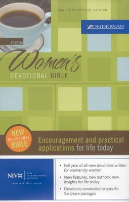 New Women's Devotional Bible, Compact, Hardcover - Slightly Imperfect  -