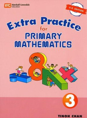 Singapore Math, Extra Practice for Primary Math U.S. Edition 3   -