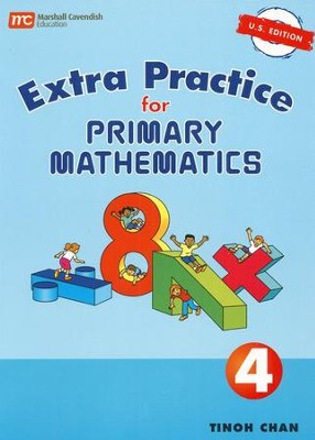 Singapore Math, Extra Practice for Primary Math U.S. Edition 4   -