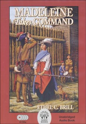 Madeleine Takes Command Audio Book, 4 CDs   -