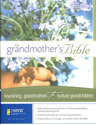 The Grandmother's Bible NIV Hardcover 1984  -